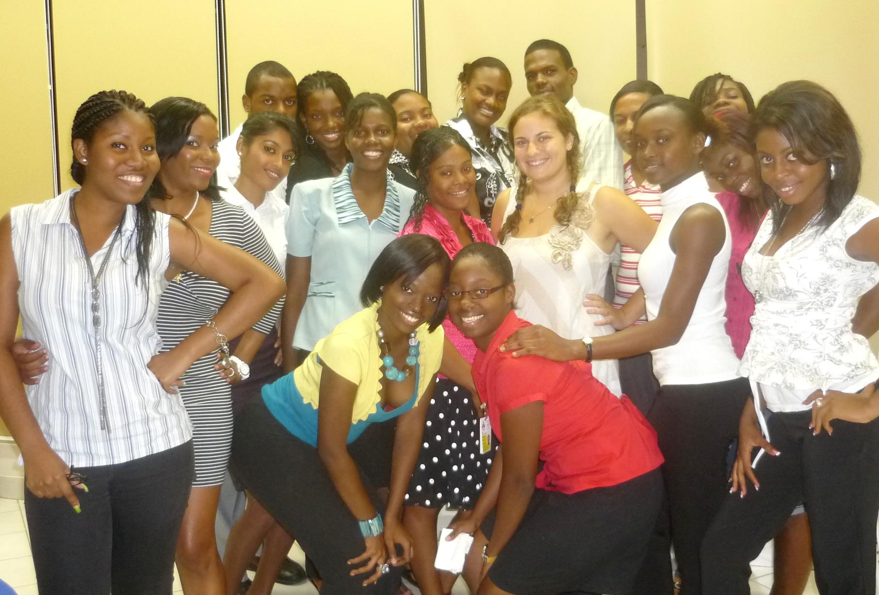 Students in 'Media Gender & Development' Course, CARIMAC.JPG