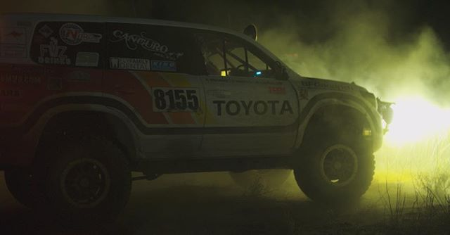 Still frame from our upcoming films for Toyota featuring @canguroracing at the #baja1000