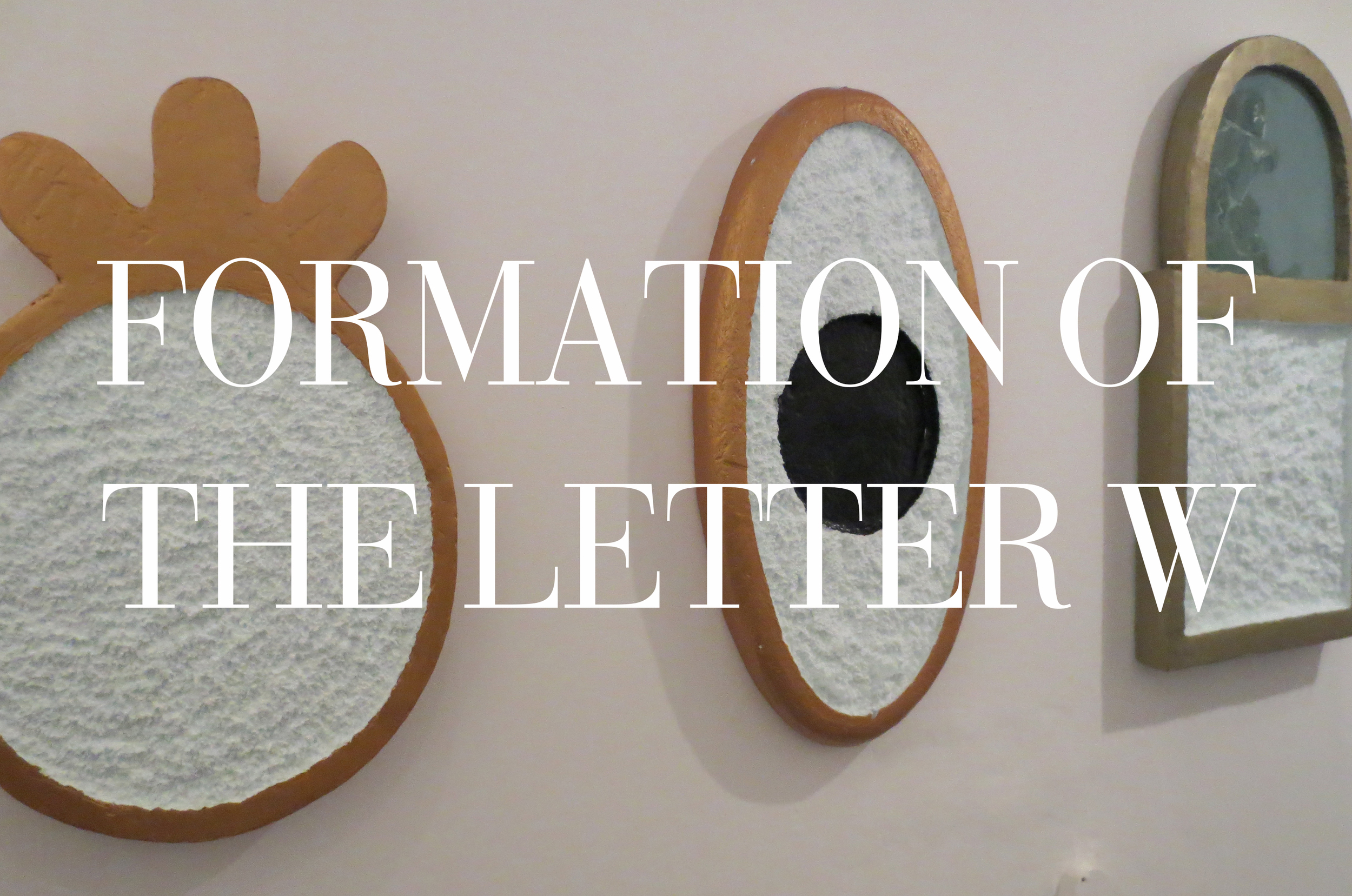 ART ON REVIEW  Surrounded by beautiful people and cheap beer, Brit Bachmann reviews Nick Howe's  Formation of the Letter W  art exhibit at Avenue Gallery.