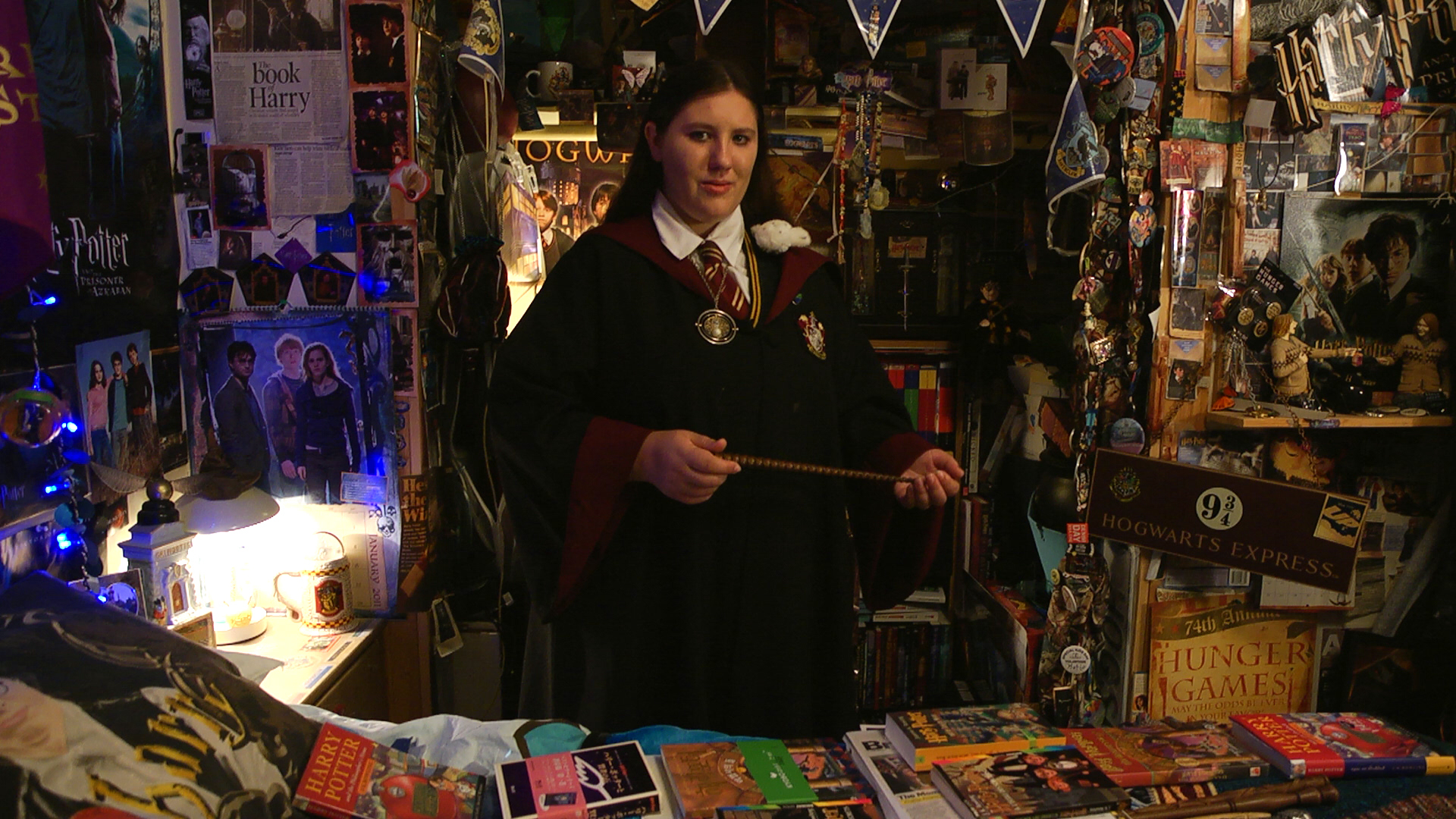 Katie Aiani, voted #1 Harry Potter fan by  Box Office Magazine