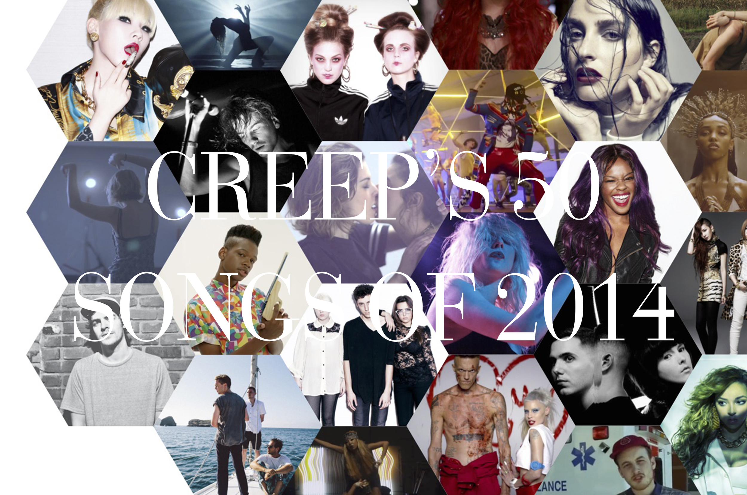 MUSIC  It's been a big year for us. We're looking forward to 2015but before we slam glasses with the new year, let's take a look back at the songs we had on repeat this year while cranking out issues.