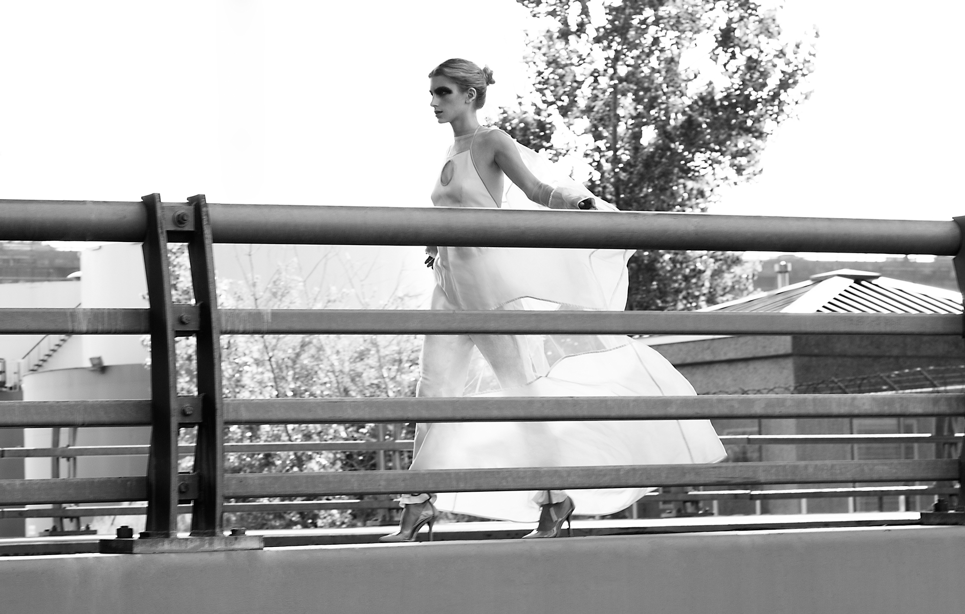 top  Juliana Horner   dress  Juliana Horner   trouser  Calvin Klein