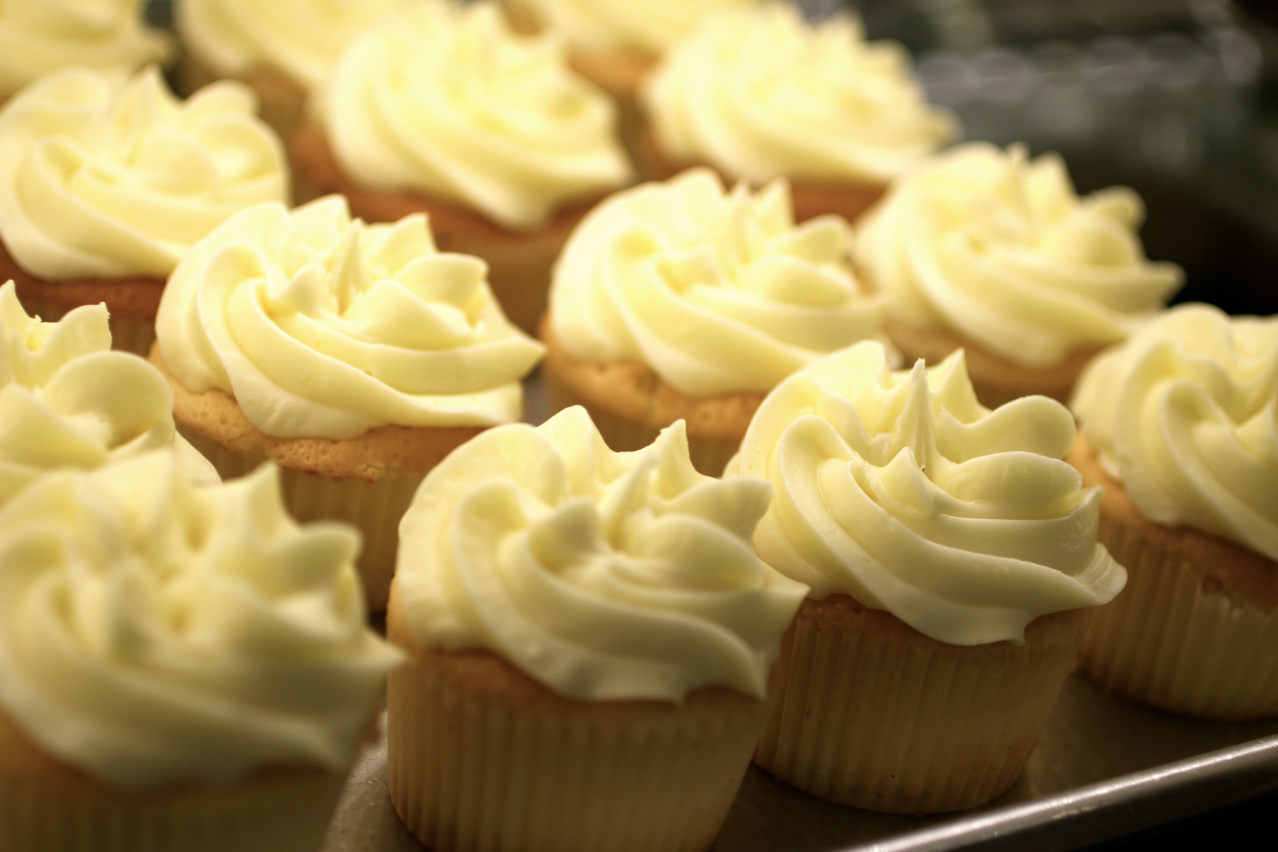 """Sweet Lemonade"" - a tart and sweet combination of lemon cake and lemon icing."