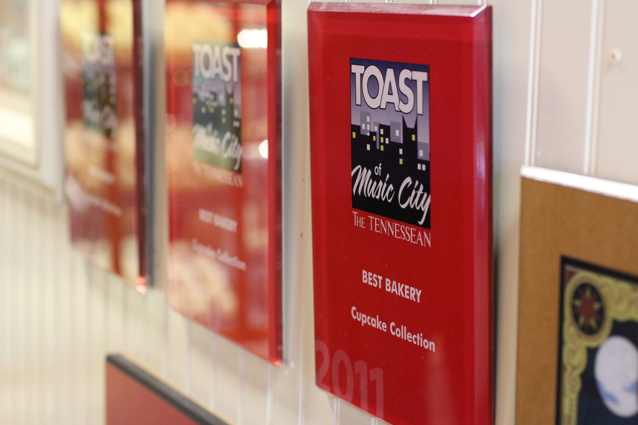 "Winner of The Tennessean's ""Toast of the Music City"" award for Best Bakery 2011"