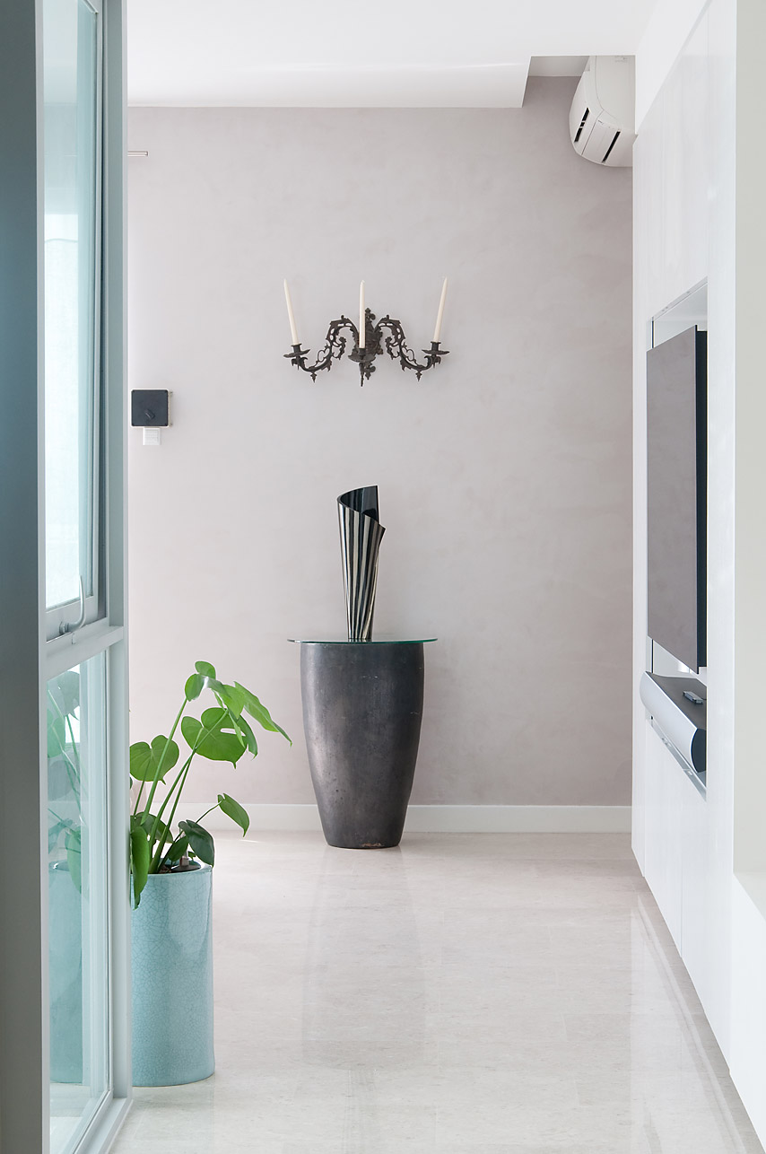 Special Wall Decoration Paint Ideas-Oikos Ottocento Venetian Plaster & Stucco by Italian Design Center Singapore