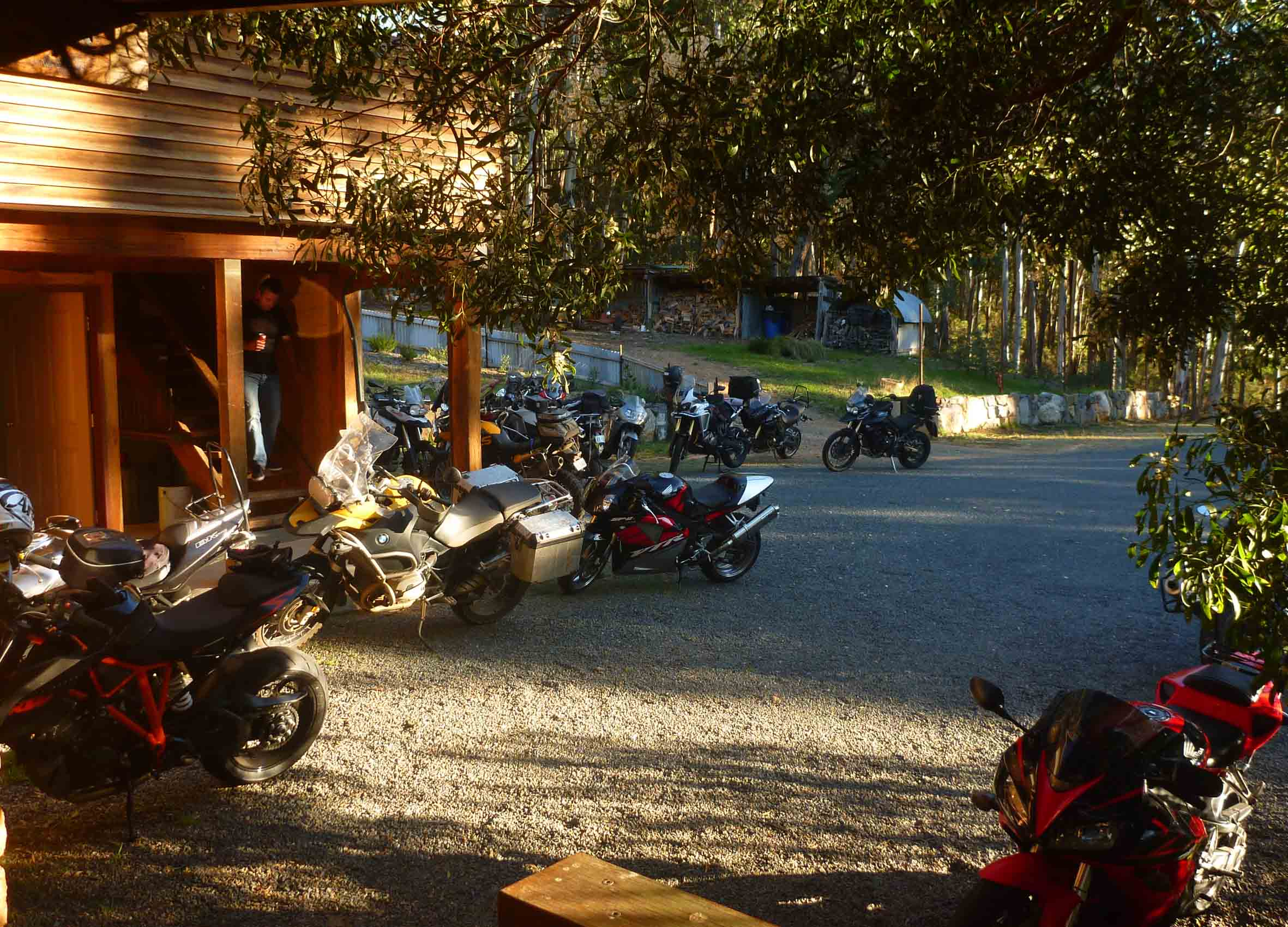 Motorbike Touring - Glen Wills has hosted motorbike touring groups travelling along the Omeo Highway. It's a great place to stop in to rest after a long day on the road.