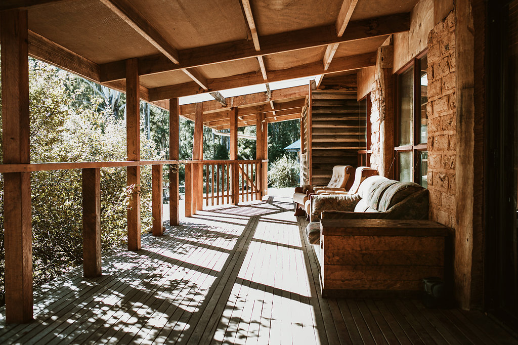 Kick Back and Relax on the Sunny Deck - The best spot to chill out as the sun goes down with a cold beer or glass of wine. Keep your eyes out for wildlife in the clearing in front of the deck!