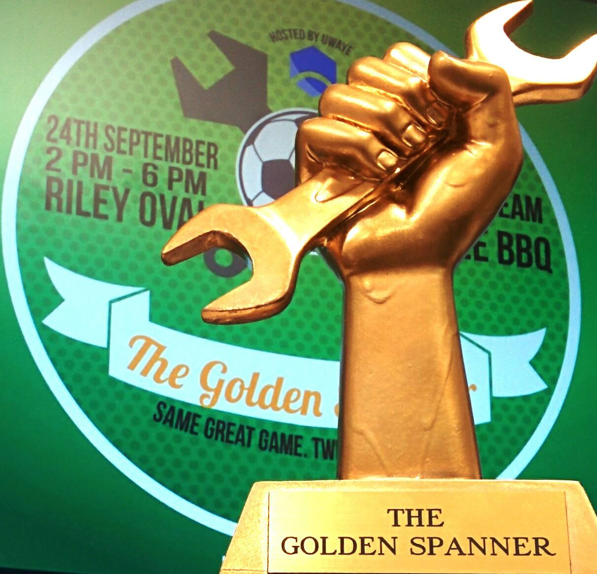 The Golden Spanner - Interspecialisation Soccer Tournament