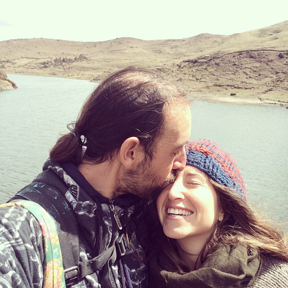 alpine kisses in Peru