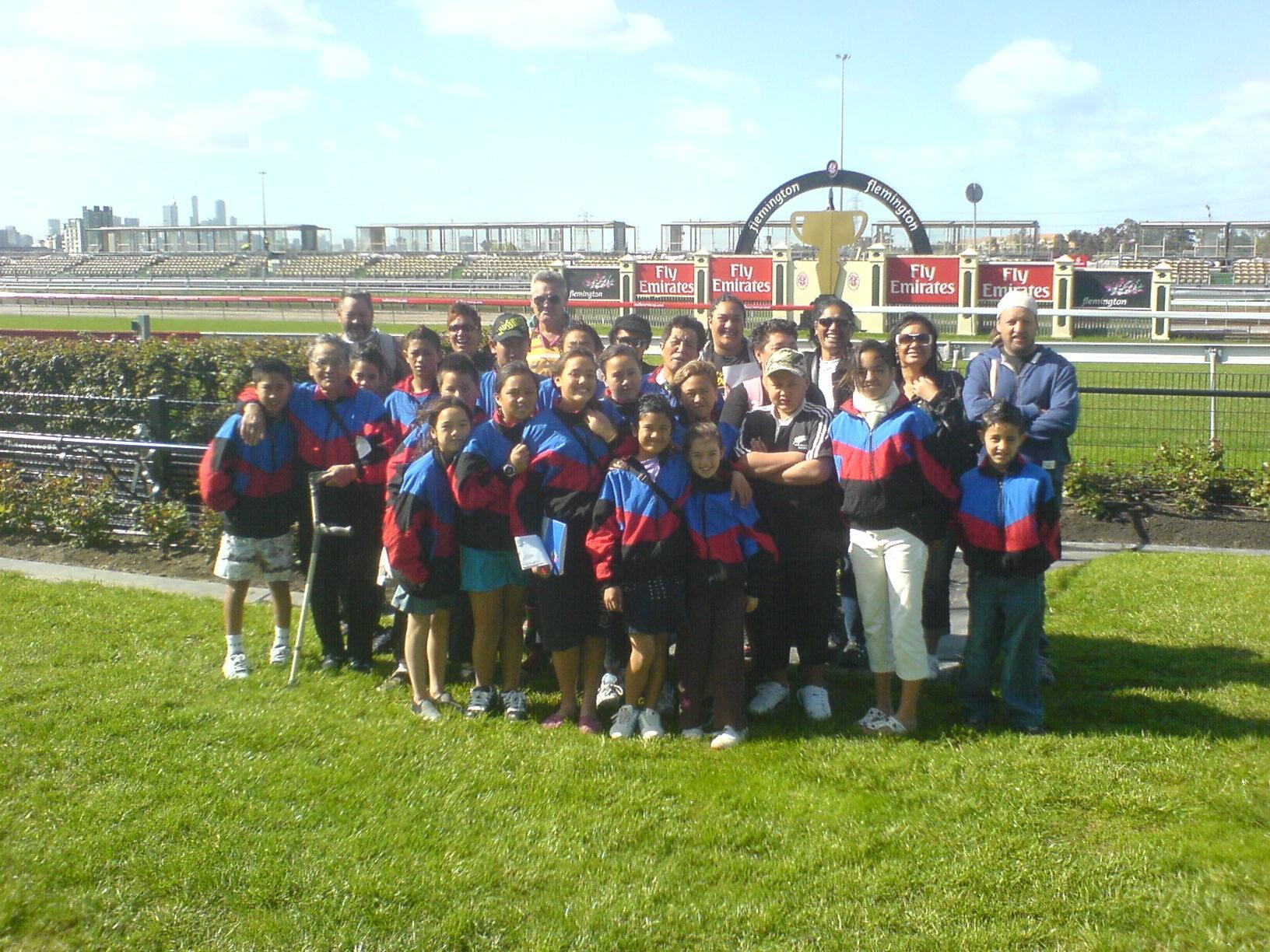 Flemington kiwi school group AugSepOct07.jpg