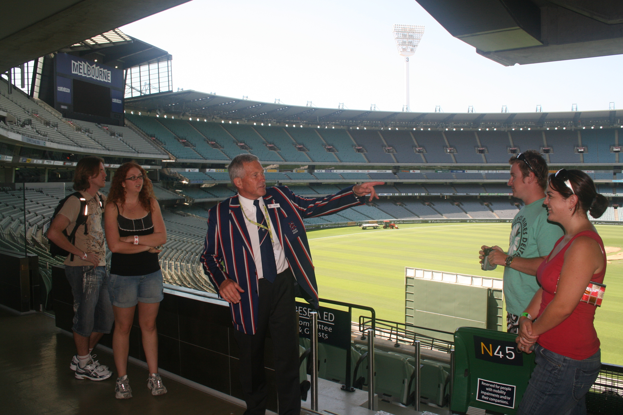 MCG on tour Feb 09.jpg