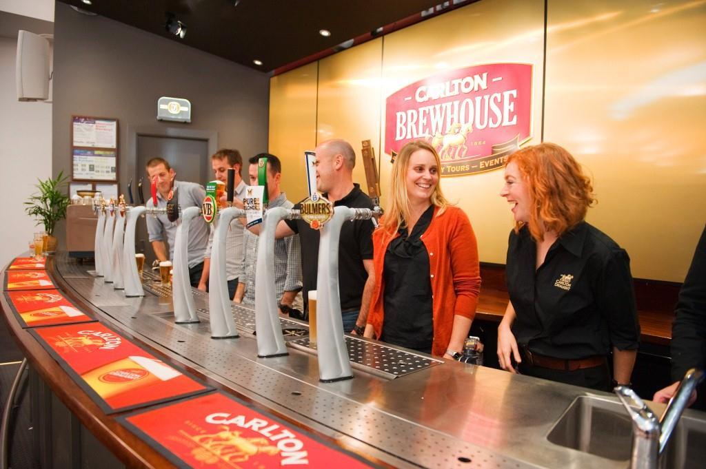 CUB Carlton & United Brewery Tour
