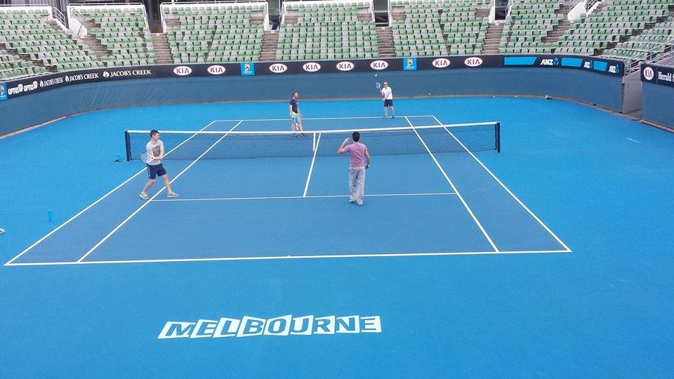 Aug 2014 play tennis on Melbourne showcourts.jpg