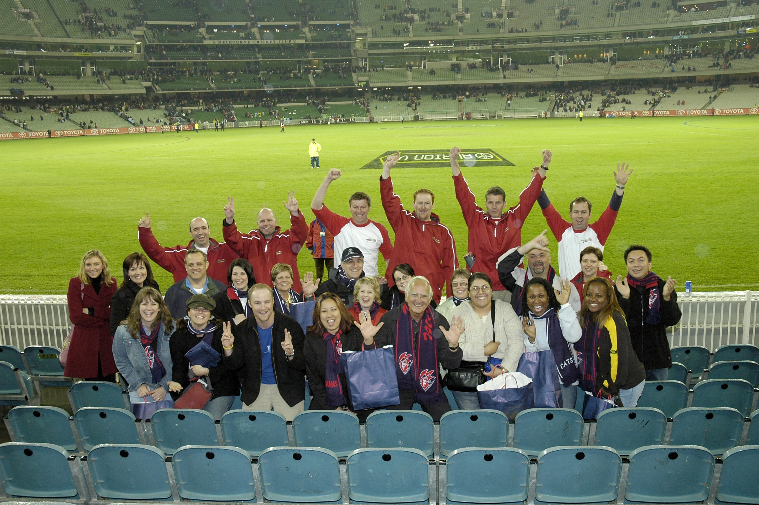 celebrating a Melbourne win with US Amex agents 3.JPG