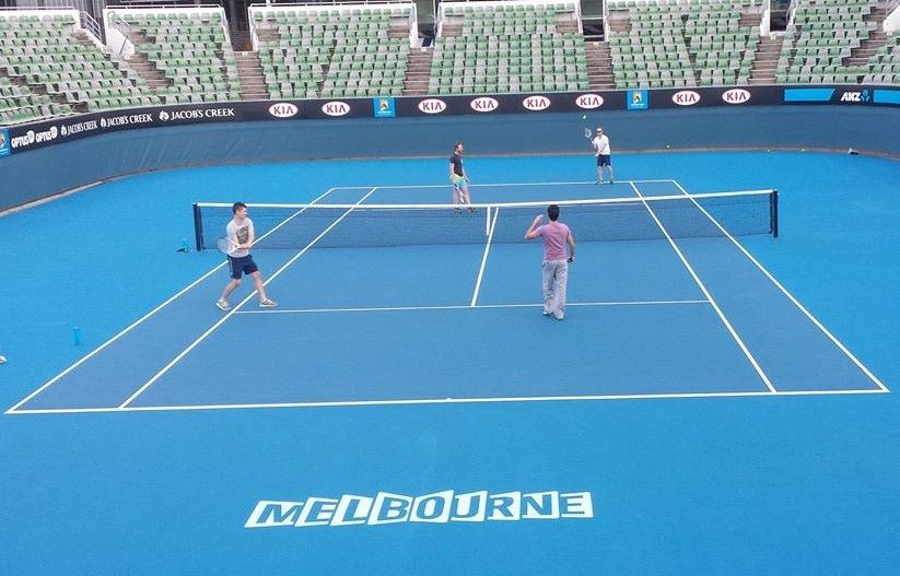 Australian Open Show Courts  Melbourne Park Rod Laver Arena
