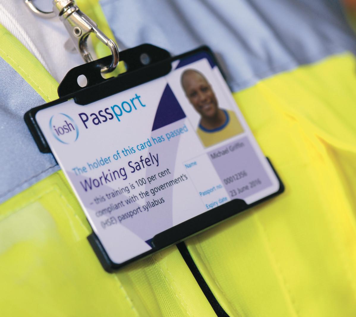 IOSH Working Safely Safety Passport