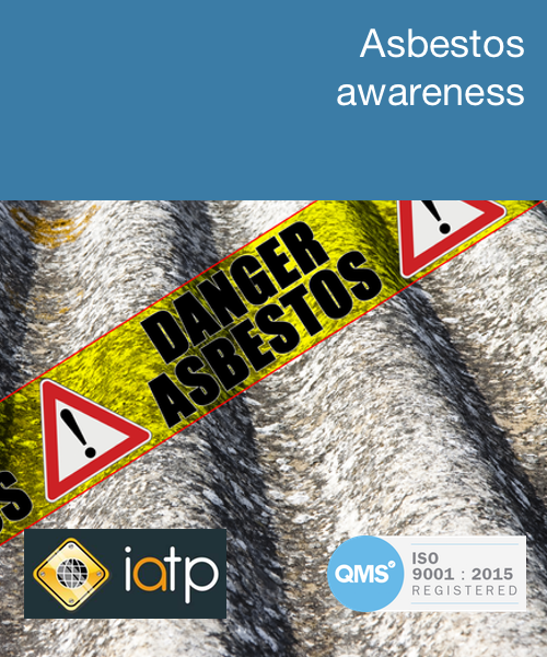 Asbestos awareness training course online — Commodious