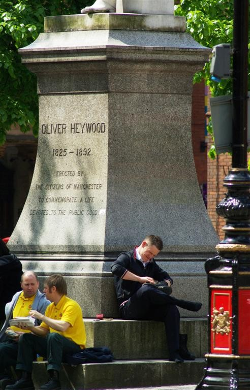 Heywood's Statue
