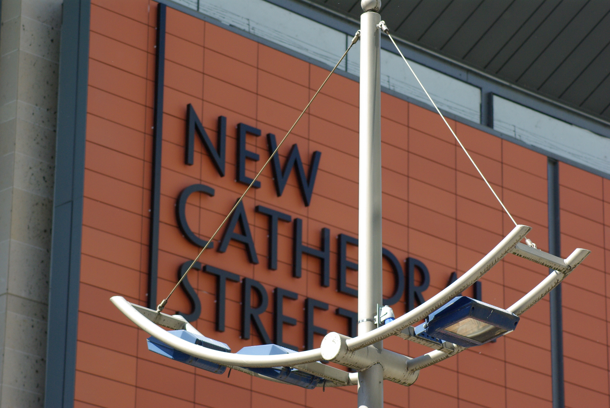 New Cathedral Street Sign