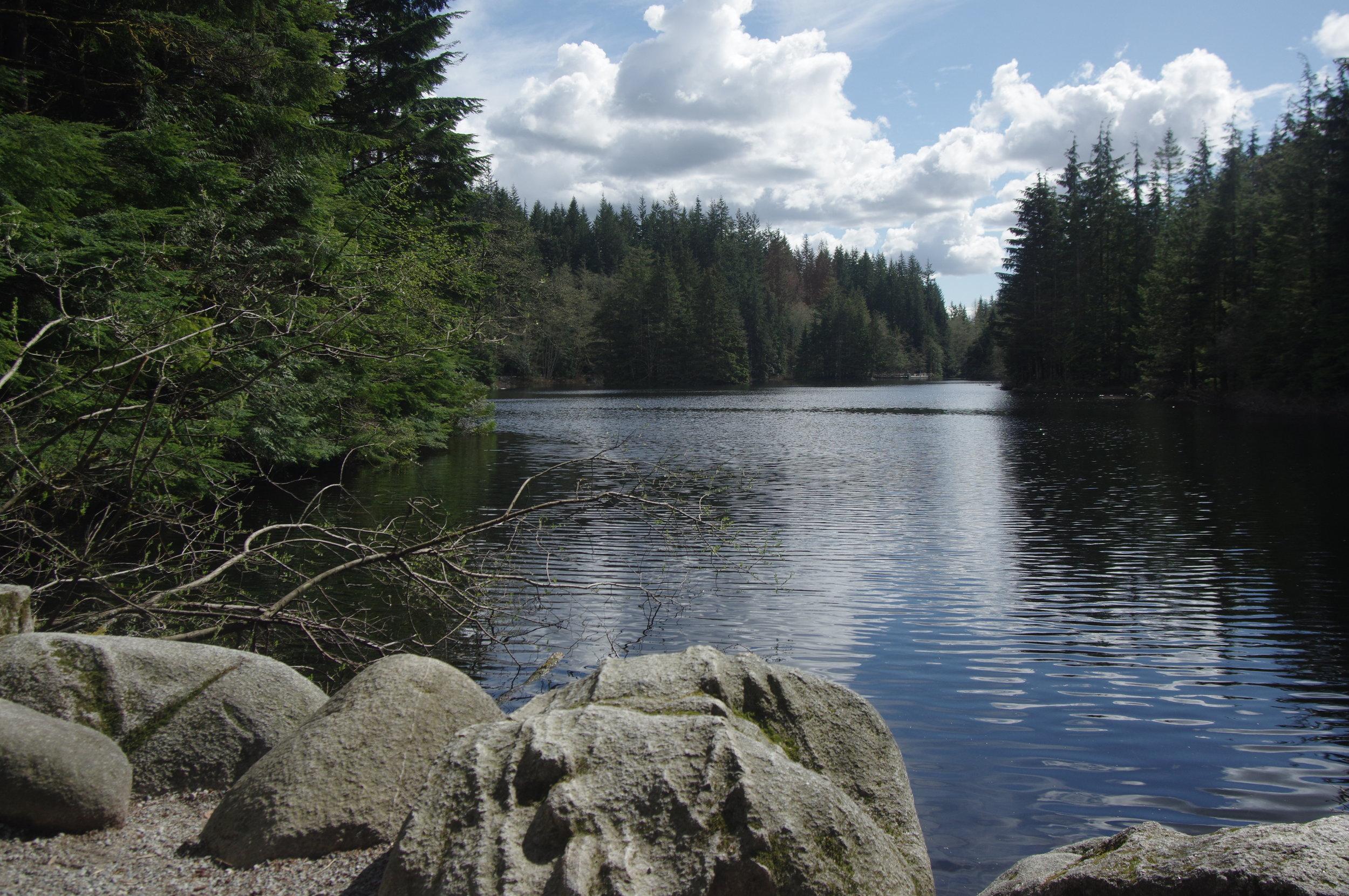 Rice Lake, Lynn Canyon Park, Vancouver