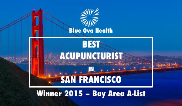 Winner of Best Acupuncturist in San Francisco
