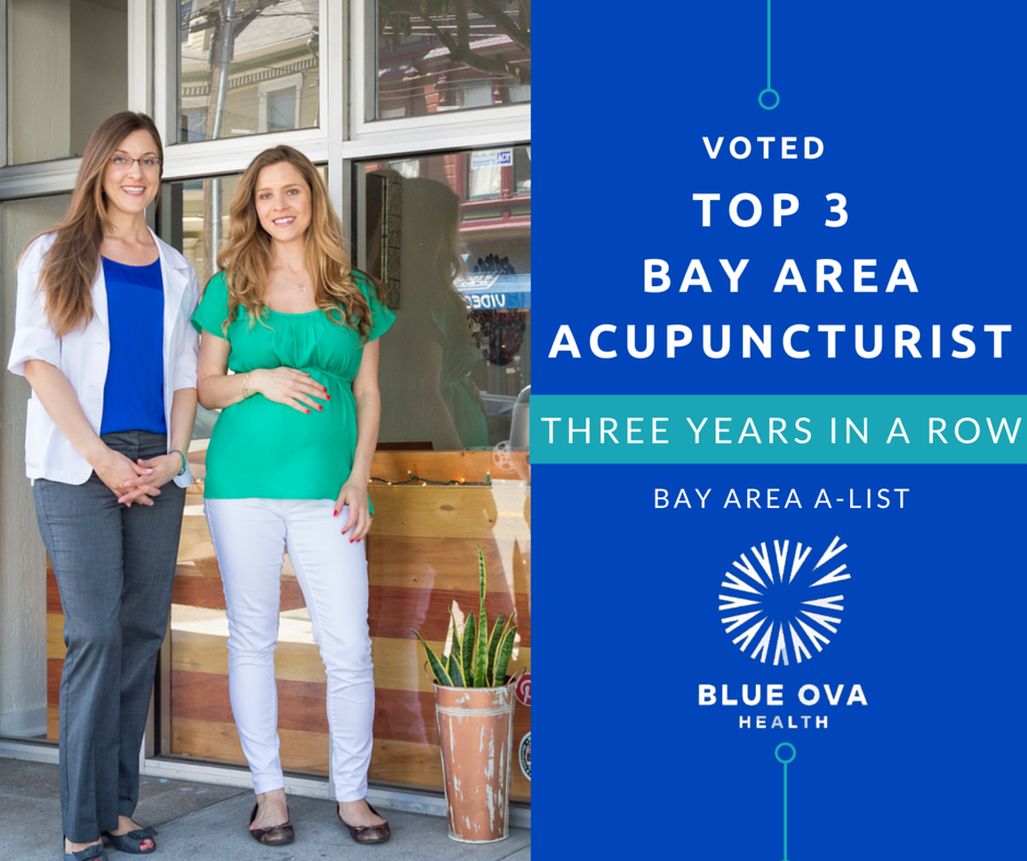 Voted Top Acupuncturist in Bay Area (again!)