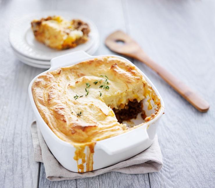 Cottage Pie with Mashed Cauliflower
