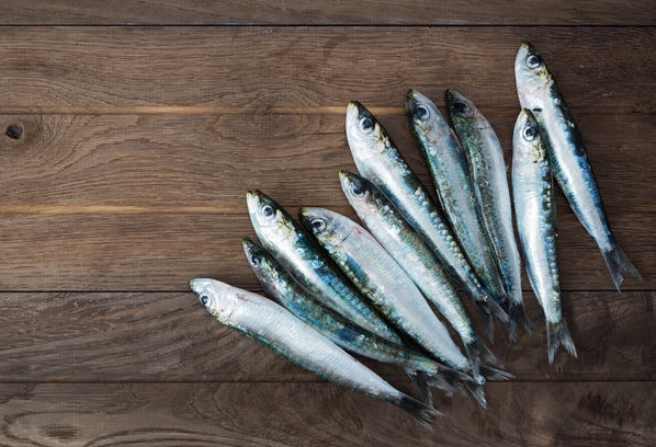 Grilled Sardines Served With Agrodolce