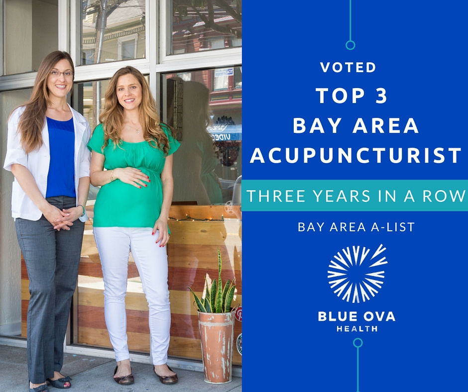 Blue Ova has again been voted a top acupuncturist on Bay Area A-List in 2016! This is the third year in a row Blue Ova and acupuncturist Robin Sheared have been named a Top 3 Acupuncturist, and the sixth year in a row as a Top 5. We are particularly humbled by this accolade as it is a people's choice award--we can't thank our community enough for your support.   Read Article
