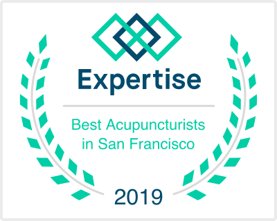 """Blue Ova Health received the award for being one of the """"Top Acupuncturists in San Francisco"""" for 2019. Expertise analyzed and scored Acupuncturists on 25 variables across five criteria to give a hand-selected list of the best acupuncturist. They looked at 191 acupuncturists in San Francisco and picked the top 20.   Read Article"""