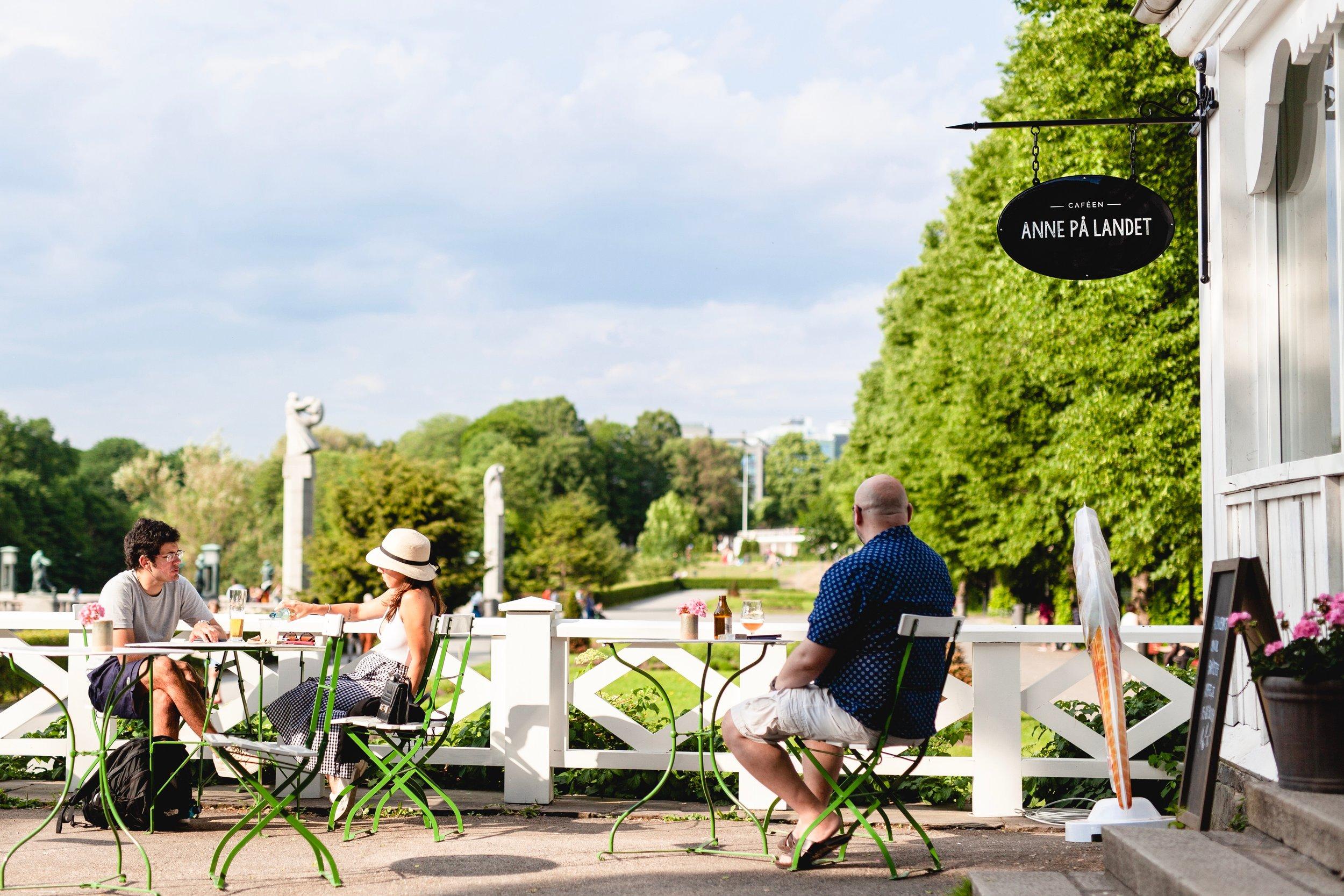 Caféen i Frognerparken