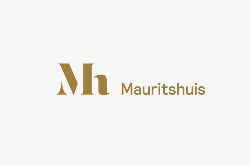 Mauritshuis 的 Logo 及 Logotype