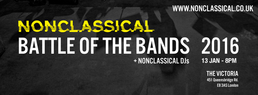 Nonclassical Battle of the Bands 2016