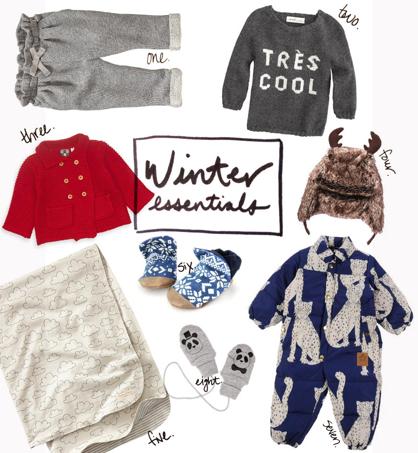 winter baby essentials