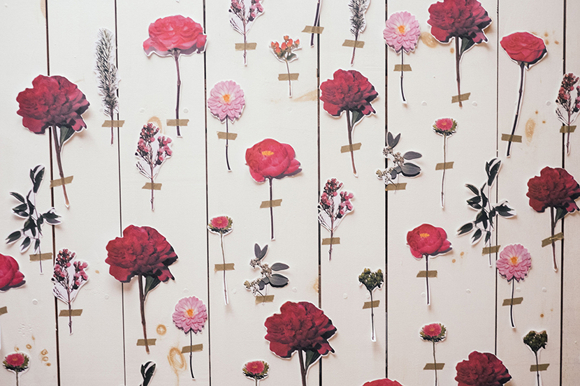 diy paper flower backdrop wedding backdrop floral wall party parker etc amy parker anderson