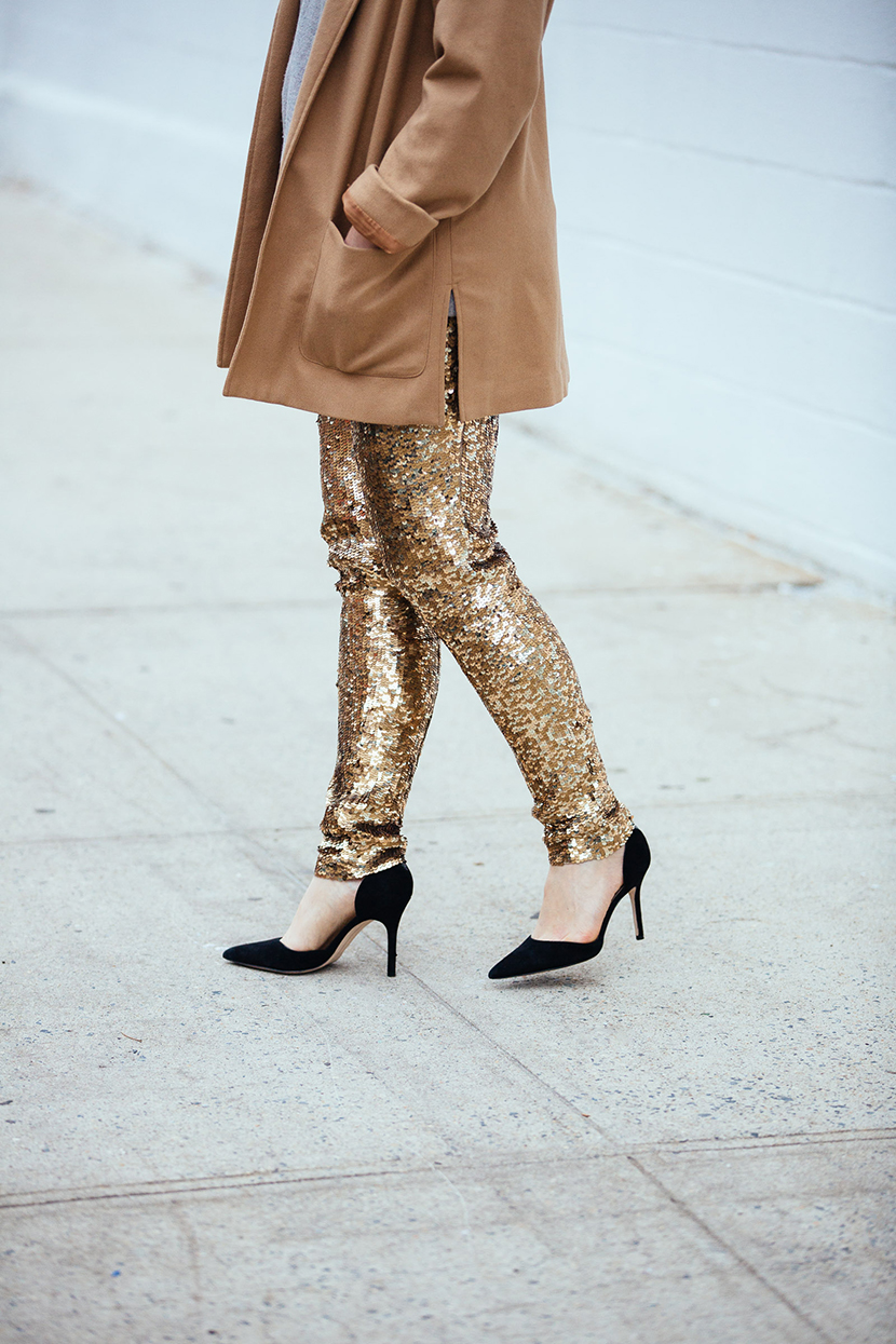new years eve outfit sequins pants