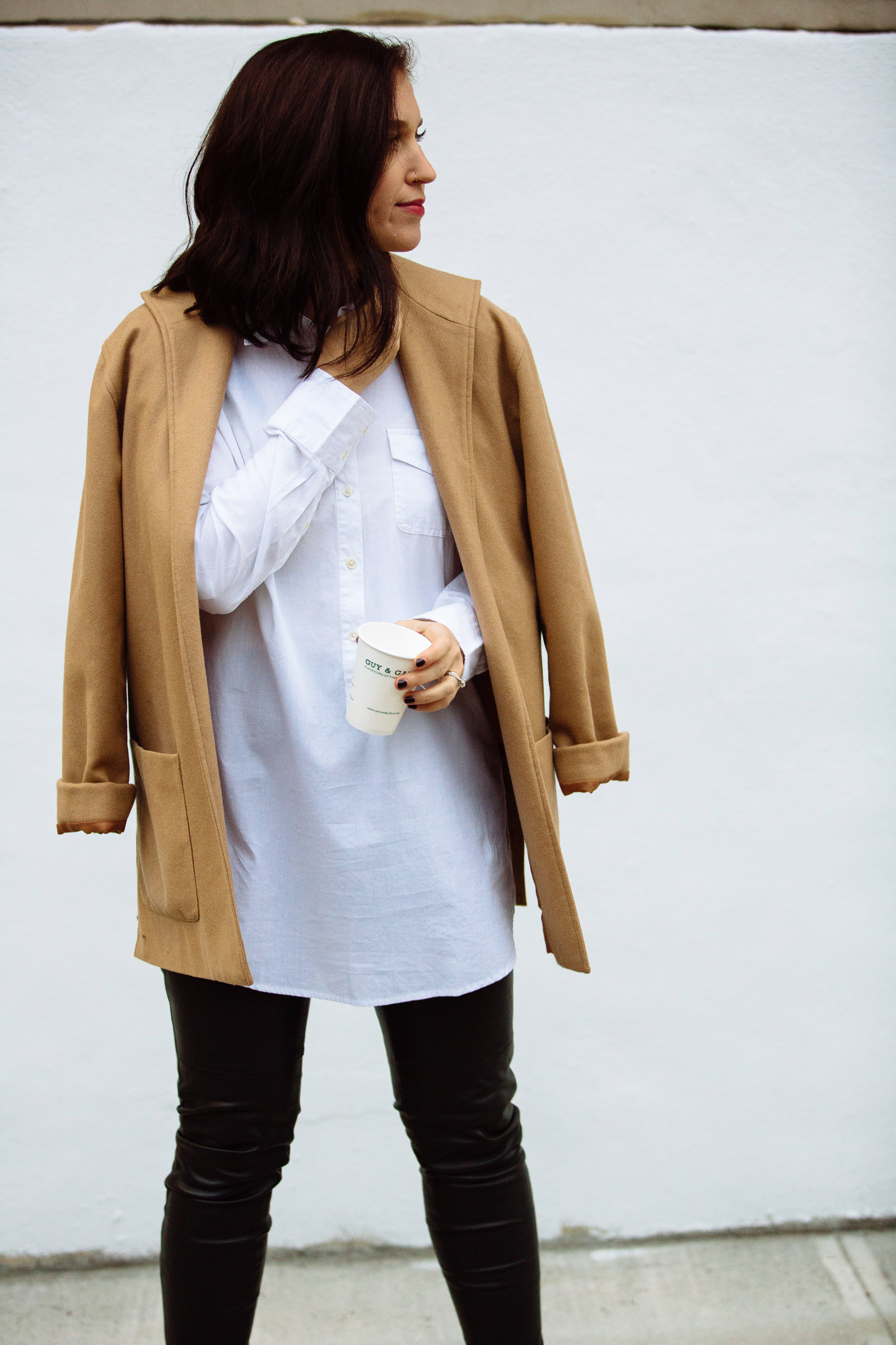 camel coat workweek basics