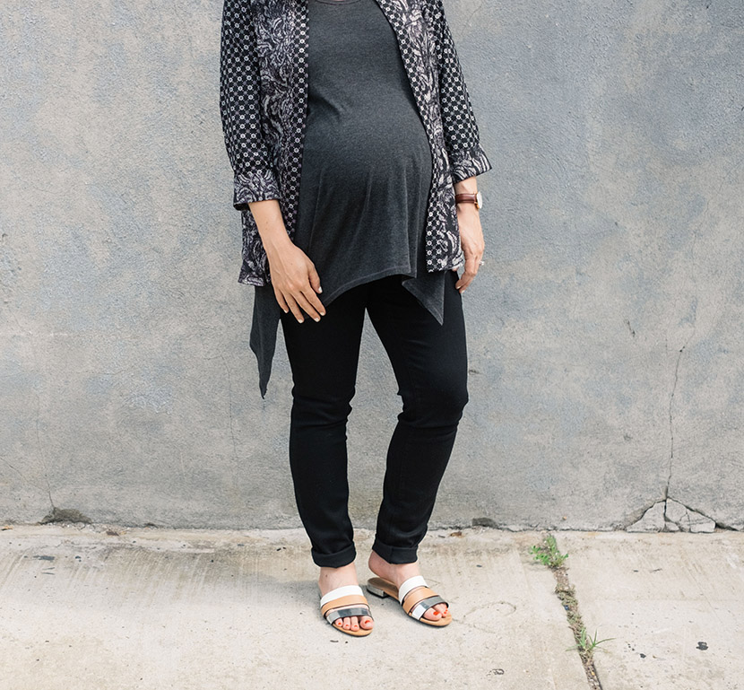 nydj maternity jeans how to style
