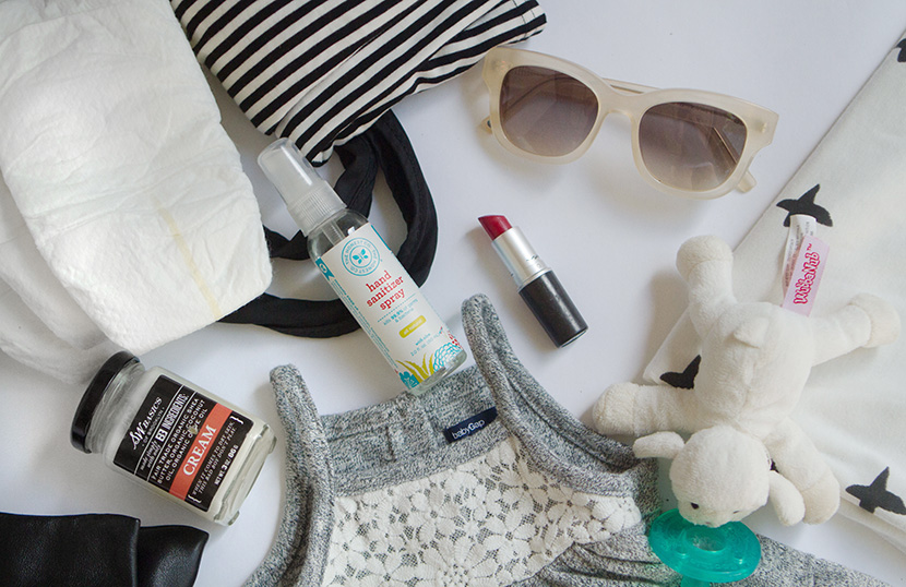 newborn diaper bag essentials