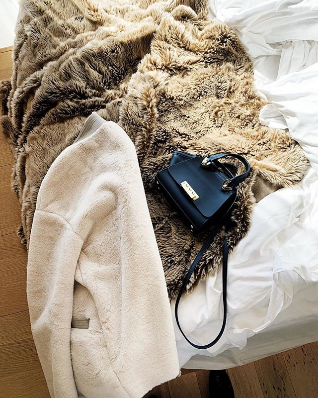 I'd rather not have to put the jacket on and leave the house and just get back in bed and take a nap! #whatiweartoday