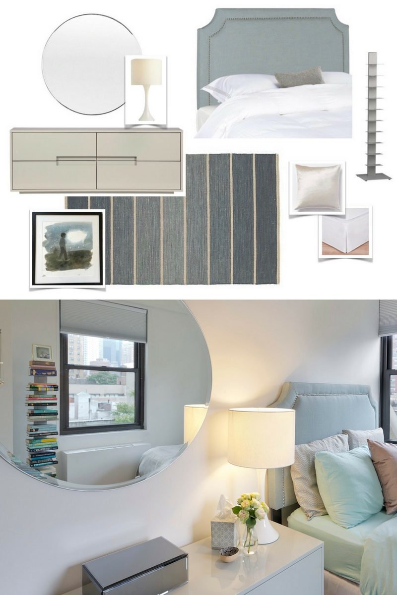 Inspiration & Realization Sweet Little Bedroom