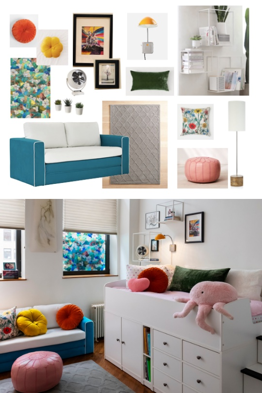 Inspiration & realization stylish & playful kids room