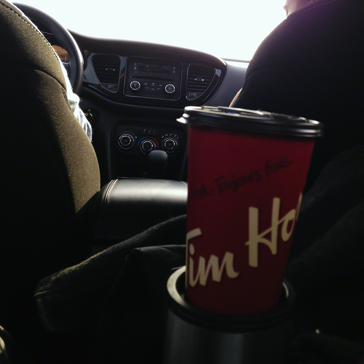 Timmies...of course