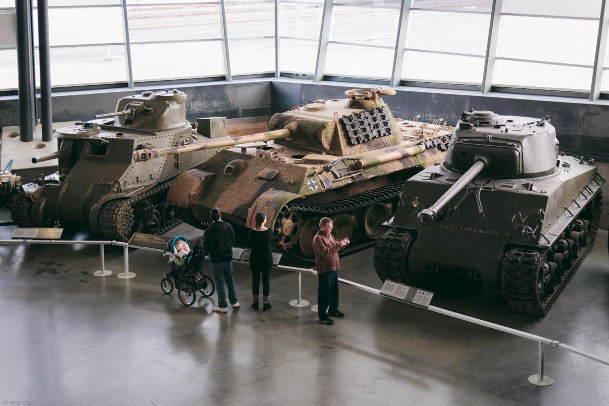 Tanks in the LeBreton Gallery