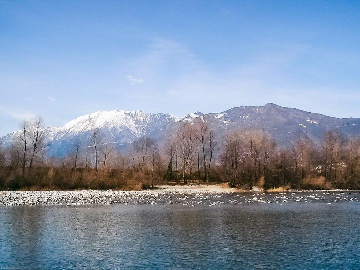 River Maggia - Ticino, Switzerland