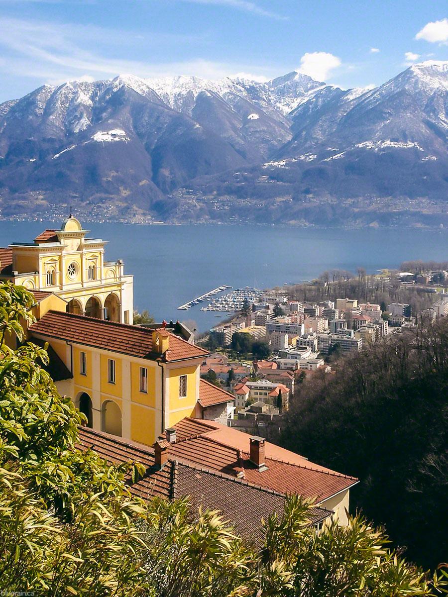 Santuario della Madonna del Sasso - Locarno, Switzerland