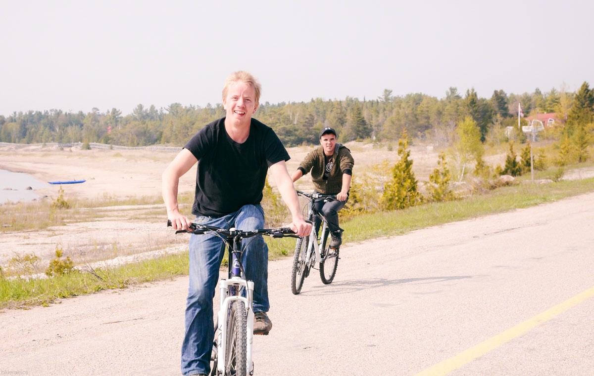 manitoulin-island-ontario-canada-providence-bay-lake-huron-boys-bikes-spring
