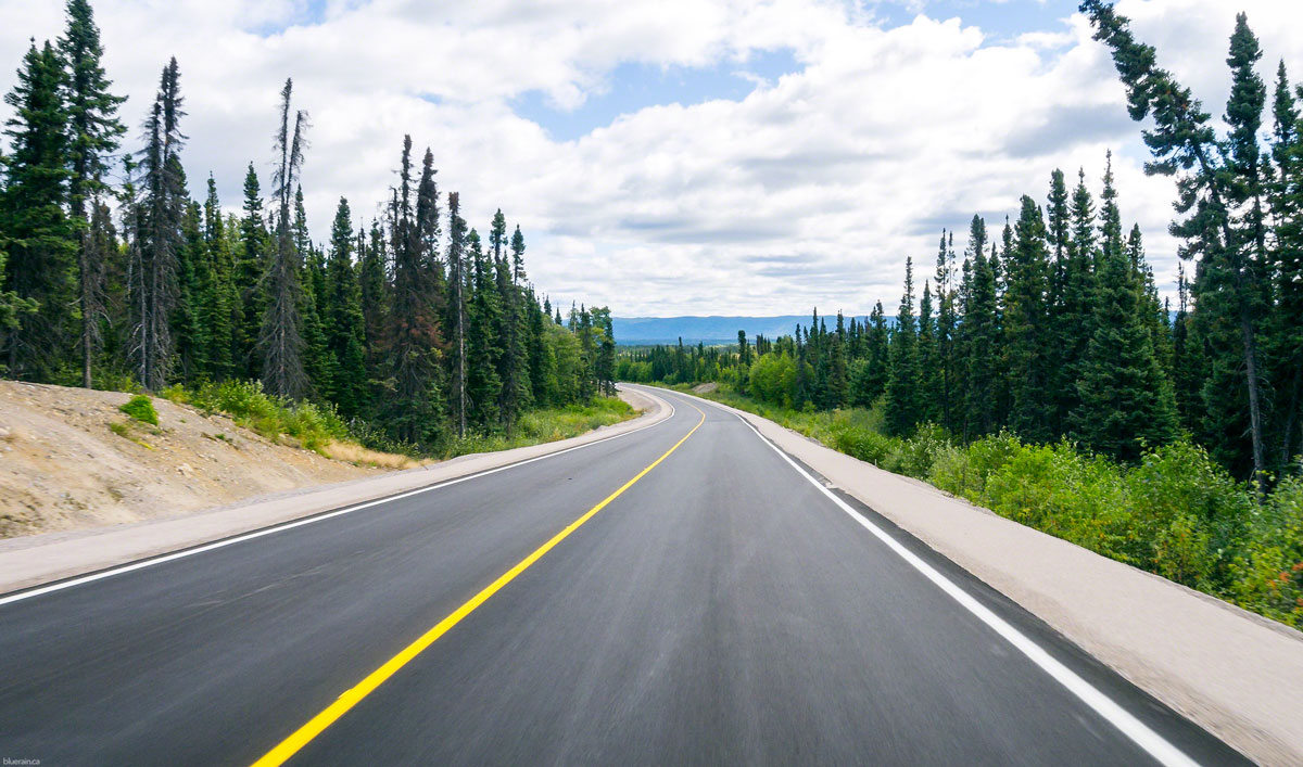 The most beautiful stretch of road in all of Labrador