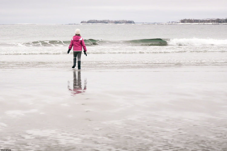 Getting Away From It All By Exploring >> Exploring A Nova Scotia Beach Blue Rain