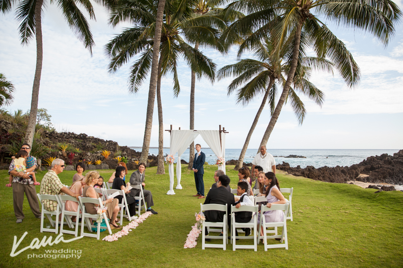 Kaua Wedding Photography: White Orchid Wedding beach house
